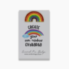 Wishstrings Enamel Rainbow Pin Badge